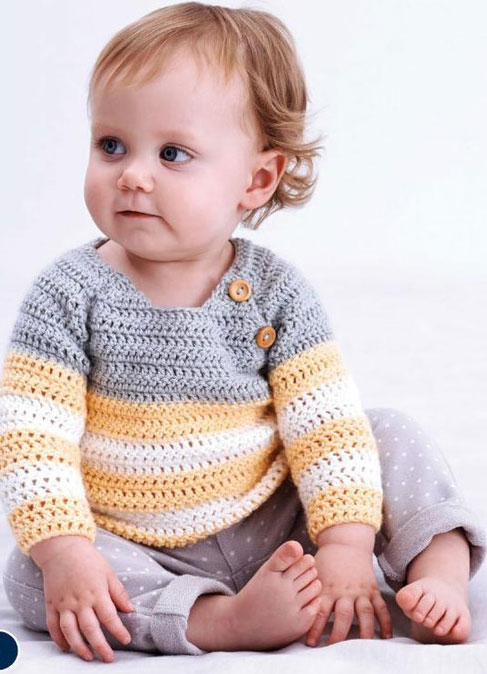Crochet Baby Swing Top Free Crochet Pattern for Summer