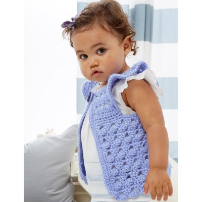 Vest Free Easy Crochet Pattern.