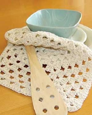 Granny's Square Dishcloth