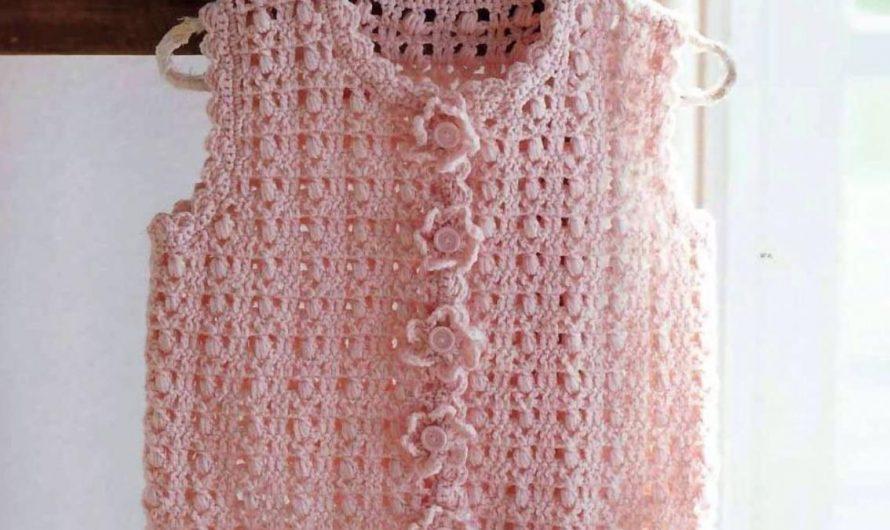Crochet Vest 12-24 Months